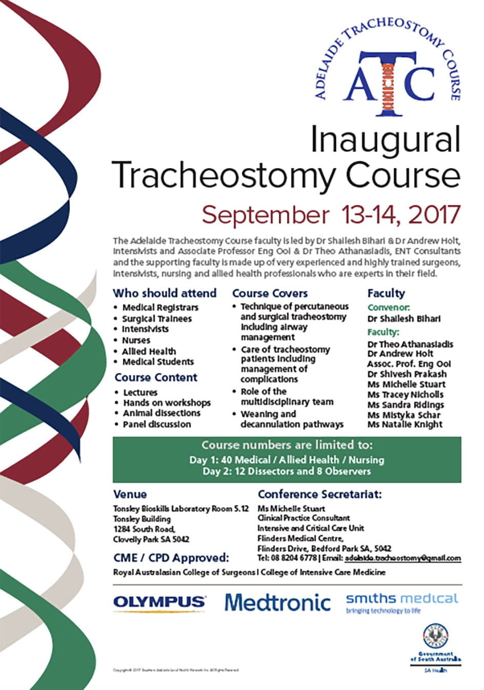 Inaugural Tracheostomy Course