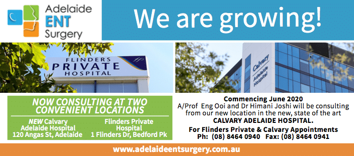 Adelaide ENT Surgery New Location